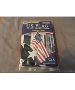 U.S. Flag Poly/Cotton with Grommets 3' x 5' from Annin Flagmakers (M) - $14.84