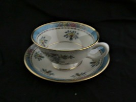 Lenox Blue Tree Teacup and Saucer - $18.69