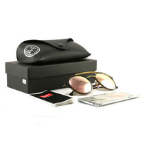 Ray-Ban Bridge Sunglasses RB4266 Havana 710/2Y Grey Pink Mirror Lens 49 ... - £72.47 GBP