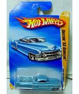 2009 New Models Hot Wheels 15/42 Blue Custom '53 Cadillac Truck Lace Whe... - $8.99
