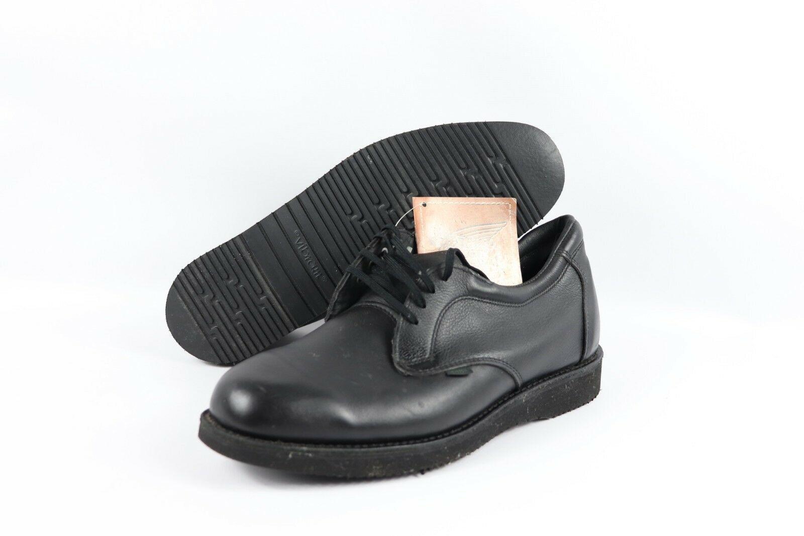 Vintage Nuevo Red Wing Shoes Hombre 11 D 9126 Punta Suave Cuero Oxford Cartero