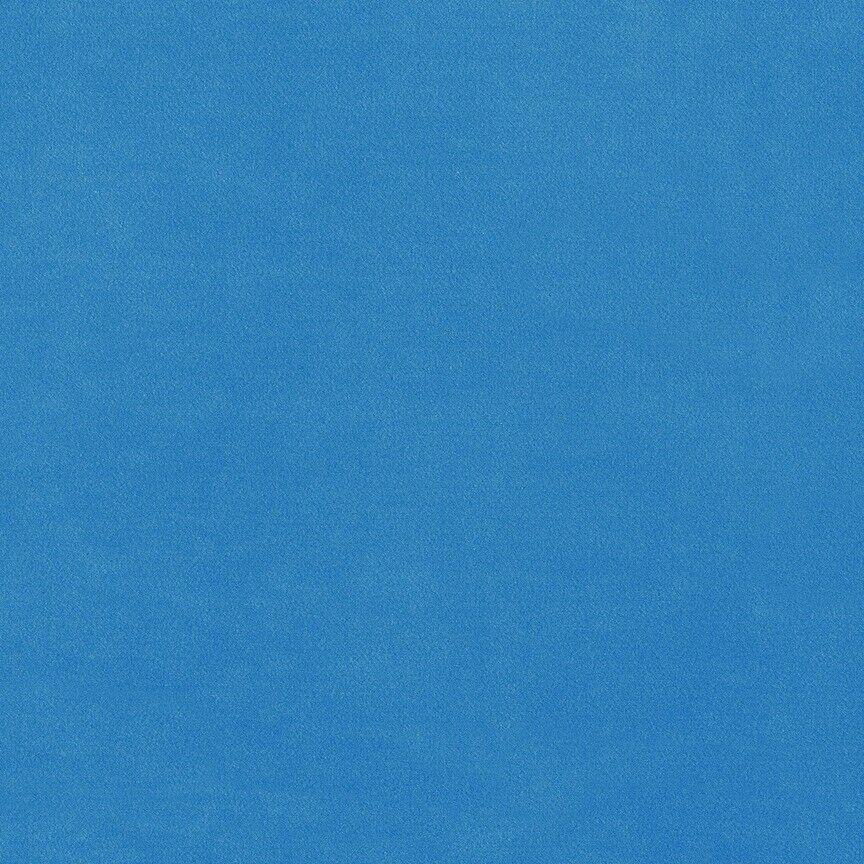 Maharam Upholstery Fabric Cotton Velvet Bright Blue Cyan 466199–020 1.5 yds QW