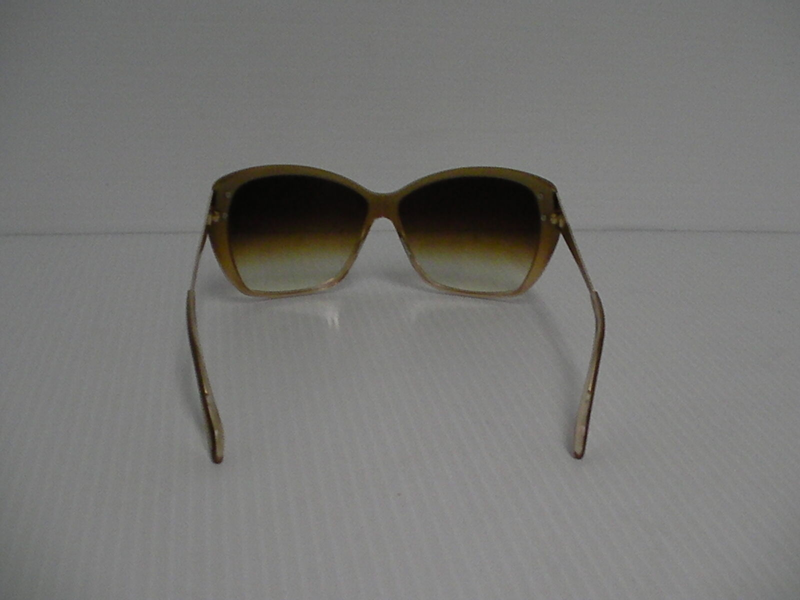 Womens OLIVER PEOPLES NEW SUNGLASSES SKYLA HAMMERED GOLD AMBER LENSE image 4