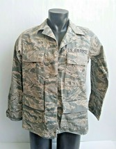 Us Air Force Woman's Coat Jacket 10L Utility Camouflage Pattern SPM1C1-07-D-0009 - $33.41