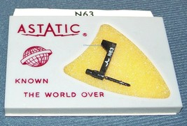 PHONOGRAPH NEEDLE STYLUS for Astatic N63 for Astatic 219 233 Astatic 237 253 164 image 1