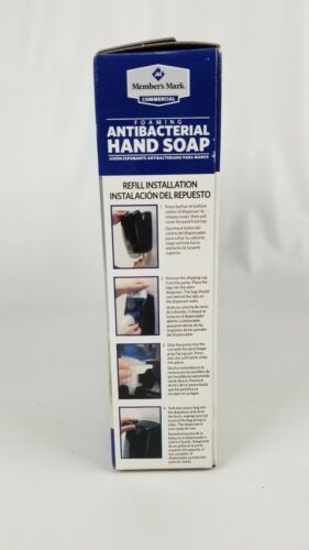 Member's Mark Commercial Foaming Antibacterial Hand Soap (2 pack) Blue