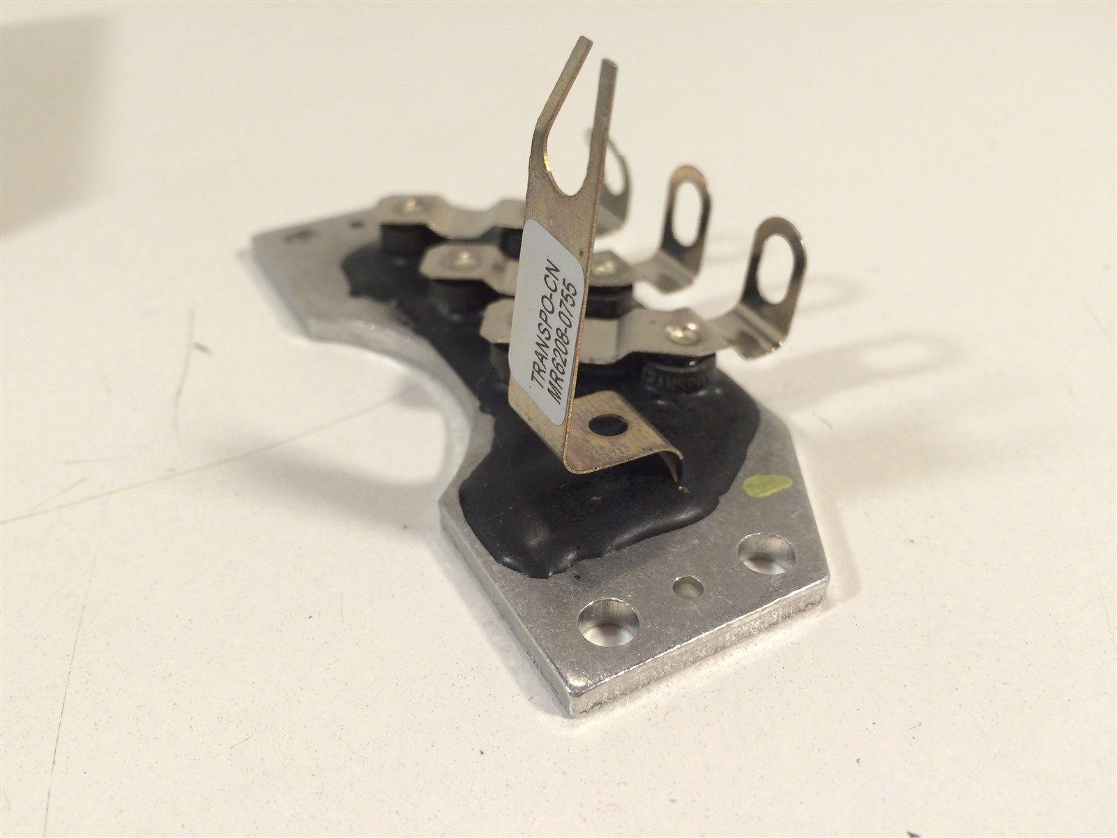 Transpo MR6208 J&N 172-16025 LP Voltage Rectifier 101-207 Motorola