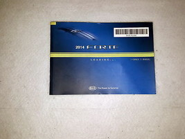 2014 Kia Forte Owners Manual 04695 - $19.75