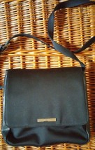 Nine West black Crossbody Handbag Purse Organize magnetic flap Adjustable Strap - $9.50
