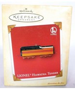 Hallmark Keepsake Christmas Ornament Lionel Hiawatha Tender Train - $16.04