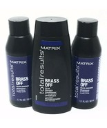 Matrix Total Results Neutralize Brassy Tones Brass Off Color Obsessed Trio - $15.99
