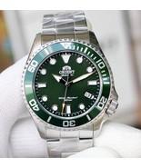 Orient RA-AC0K02E Orient divers automatic men's watch green dial sapphir... - $299.00