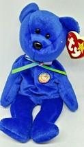 Ty Beanie Baby -BLUE Clubby Bear 1998 - $9.49