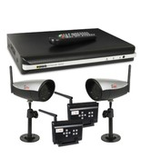 Q-See Security Surveillance System with 500GB 4-Channel DVR and 2Wireles... - $187.39