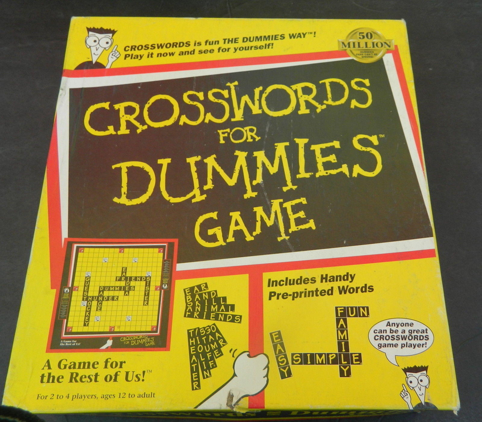 Primary image for Crosswords For Dummies  Game 1996 Pressman-Complete