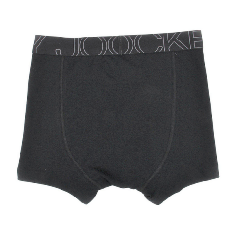 Jockey 4-Pack Men's Active Blend Boxer Briefs, Gray\Black Size L