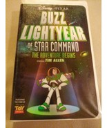 Buzz Lightyear of Star Command: The Adventure Begins (VHS, 2000) Clamshell - $9.55