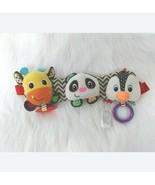 Infantino Car Seat Baby Development Toy Rattle Teether Multicolored B209 - $11.97