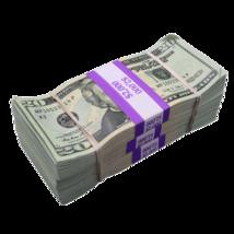 $6,000 - $20 Full Print Aged Fake Bills Bundle Poker Game Prank Music Vi... - $24.99