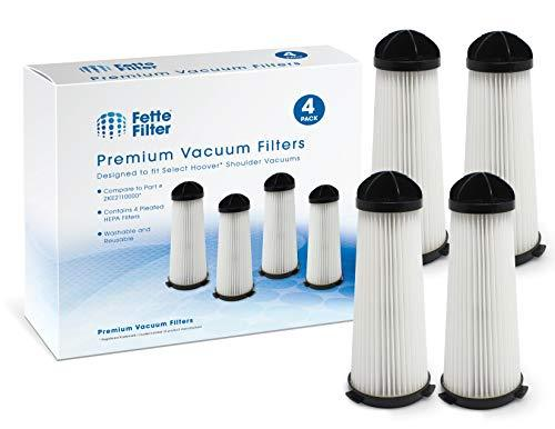 Fette Filter - Vacuum Filter Compatible with Hoover Shoulder Vacuums. Compare to