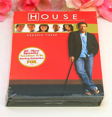 Primary image for New Sealed DVD's House M.D. Season 3 TV Series Medical Drama 24 Episodes