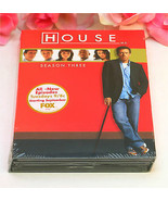 New Sealed DVD's House M.D. Season 3 TV Series Medical Drama 24 Episodes - $19.99
