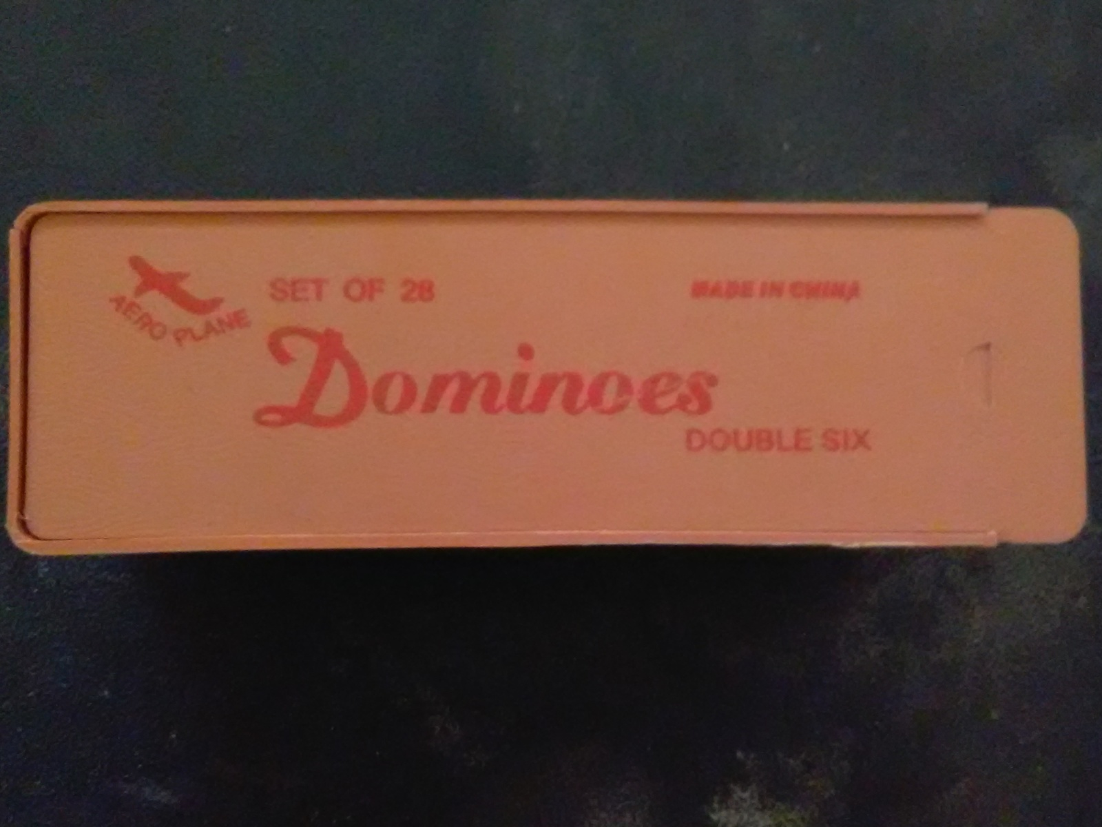 dominoes Double 6 JUMBO Size White Free Shipping USA BEST COLOR LIMIT SIGHT
