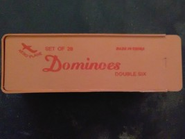Aeroplane Dominoes (Double Six) - $15.00
