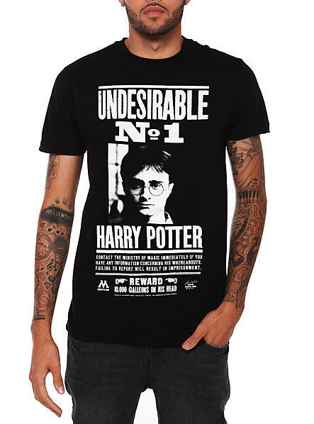 Primary image for Officially Harry Potter Undesirable No. 1 T-Shirt