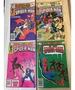 Spectacular Spider-Man 55 59 60 61 Marvel Comic Black Costume 1981 VF/VF+ - $7.19