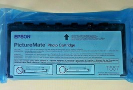 Epson Picture Mate Photo Cartridge Expired 2007  T557 New In Package - $11.29