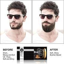 Beard Kit Beard Care & Grooming Kit for Men Gifts, Natural Organic Beard Oil, Be image 4