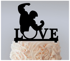 Decorations Cake topper,Cupcake topper, love bodybuilders Package : 11 pcs - $20.00