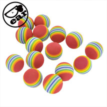 Cat Toy Ball Foam Soft Colorful Chewing Teething Treat Outdoor Pet Suppl... - $10.02 CAD