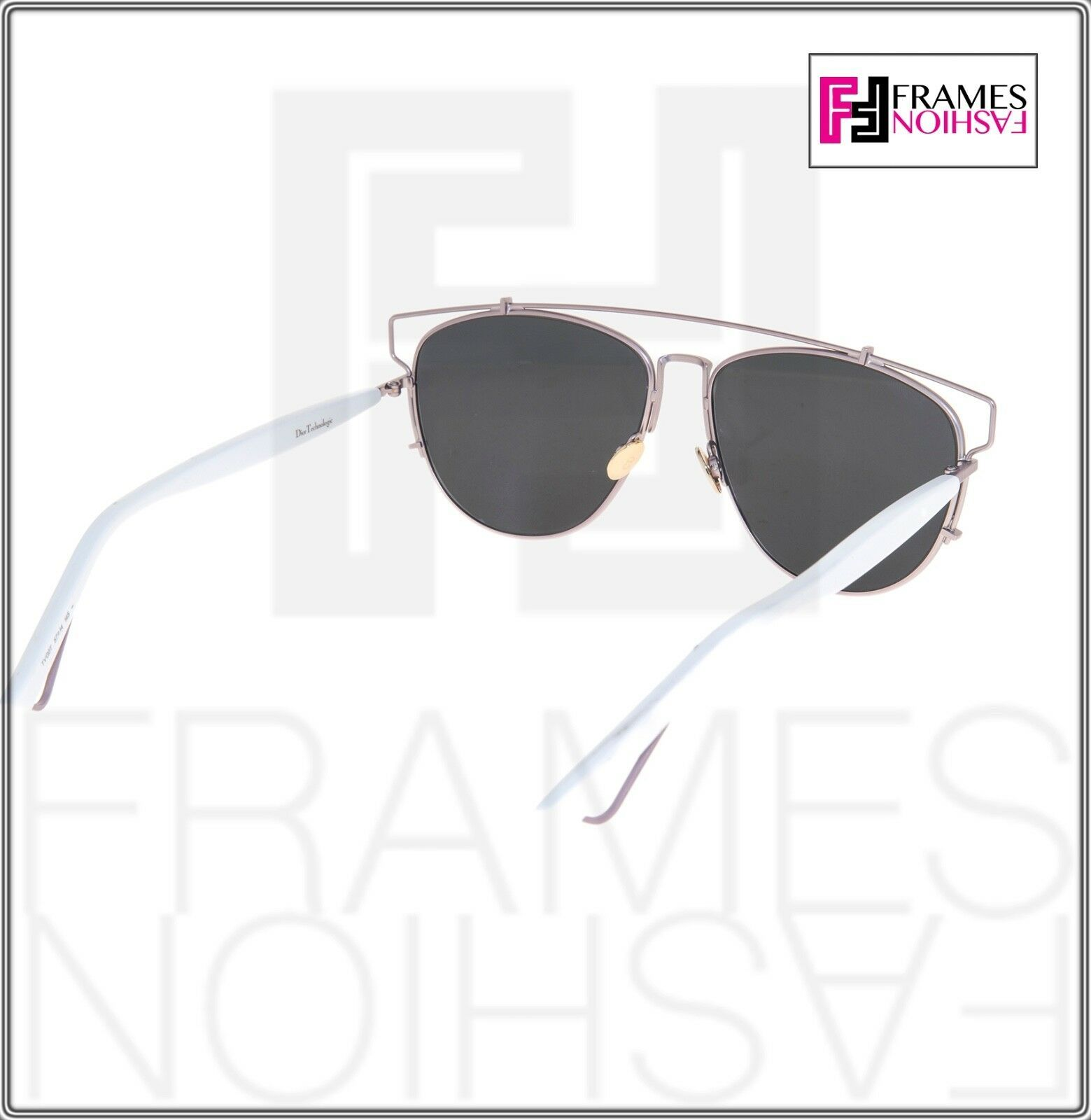 CHRISTIAN DIOR TECHNOLOGIC White Lilac Flash Mirrored Sunglasses DIORTECHNOLOGIC image 4
