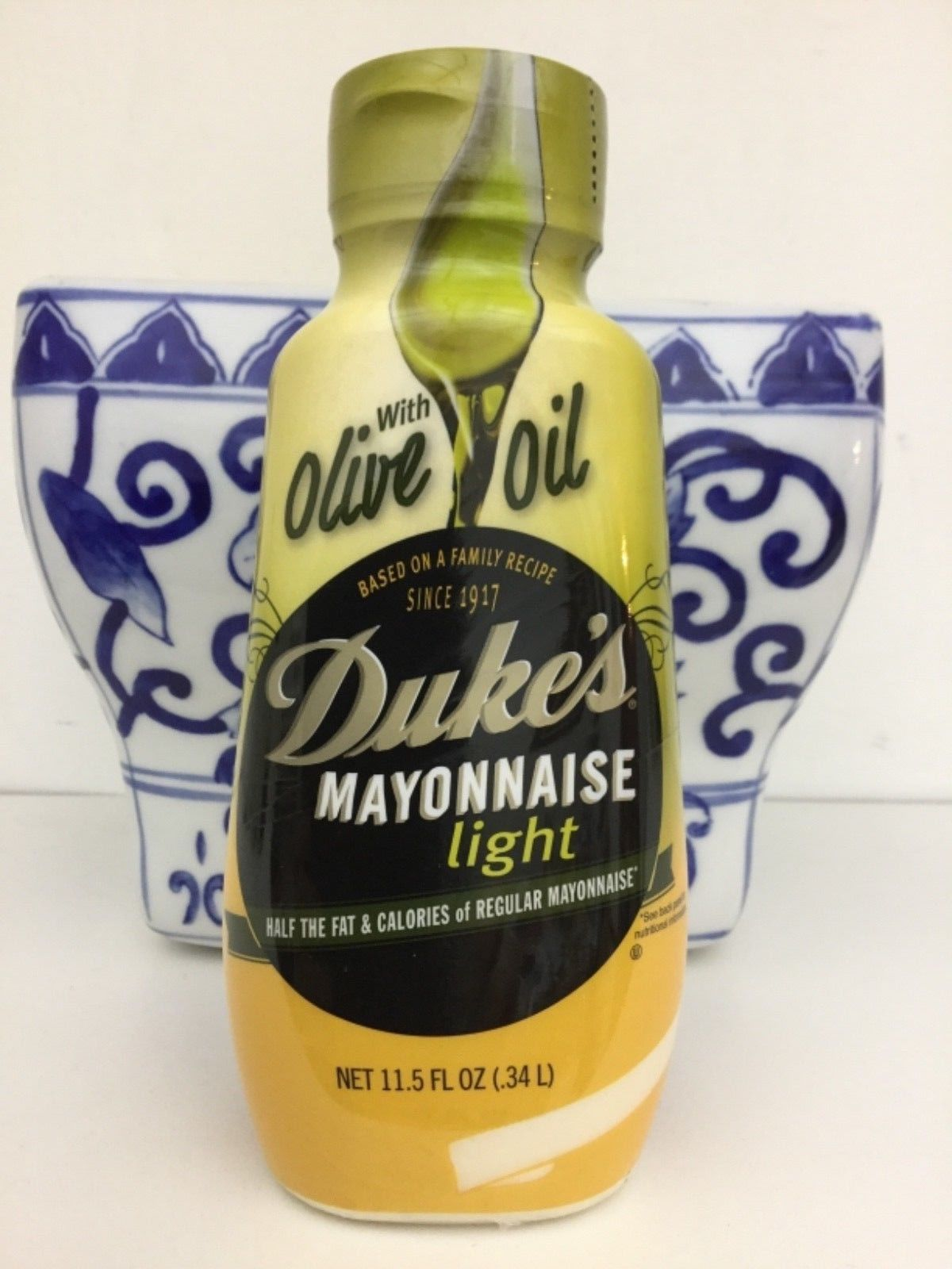Primary image for Duke's Light Mayonnaise With Olive Oil 11.5  oz Bottle