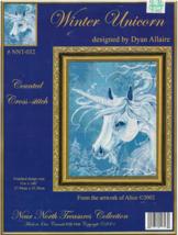 Counted Cross Stitch Pattern-Winter Unicorn-Near North Treasures Collect... - $9.46