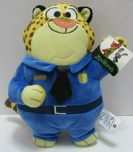 Disney Zootopia Movie Meduim Plush Officer Clawhauser Leopard Stuffed An... - $19.80