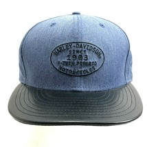 Harley-Davidson Ball Cap New Era 59Fifty Front/Rear Embroidery Brand New - €19,76 EUR