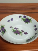 China Bowl Made in Japan with Purple Flowers - $4.95