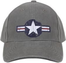 Olive Drab Vintage US Air Corp Logo Adjustable Hat - $11.99