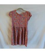Ralph Lauren Polo Girls Sz. 6 Red Floral Dress - $9.86