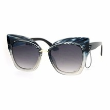 Oversized Fashion Sunglasses Womens Square Cateye Butterfly UV 400 - $12.95