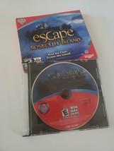 Escape Rosecliff Island PC CD-Rom 2010 Windows Mac popcap hidden object game - $9.89