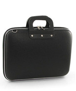 Laptop Netbook Notebook Carry Case Black PVC Rubber PC Tablet Carry On Soft - $12.99