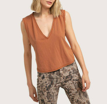We The Free By Free People Aux Femmes Dreamy OB1062737 Haut Marron XS - $25.17