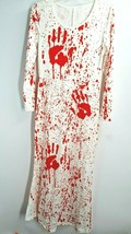 Womens Halloween Costume Cosplay Bloody Morgue Dress Size Medium See Mea... - $16.82