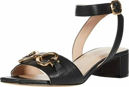 kate spade new york Lagoon Heart Chain Sandals Black Size 9.5 MSRP: $168.00 - $89.09