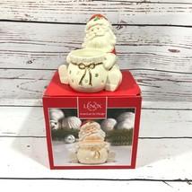 Lenox Santa Claus Holiday Votive Candle Holder - $27.23