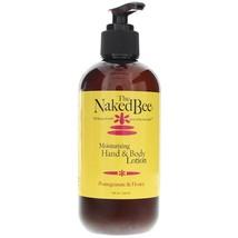 The Naked Bee Pomegranate & Honey Hand & Body Lotion 237ml/8oz - $24.97